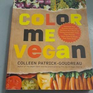Color Me vegan new cookbook